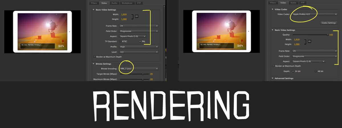 Guide to Rendering Animation Projects | Codecs, Compression